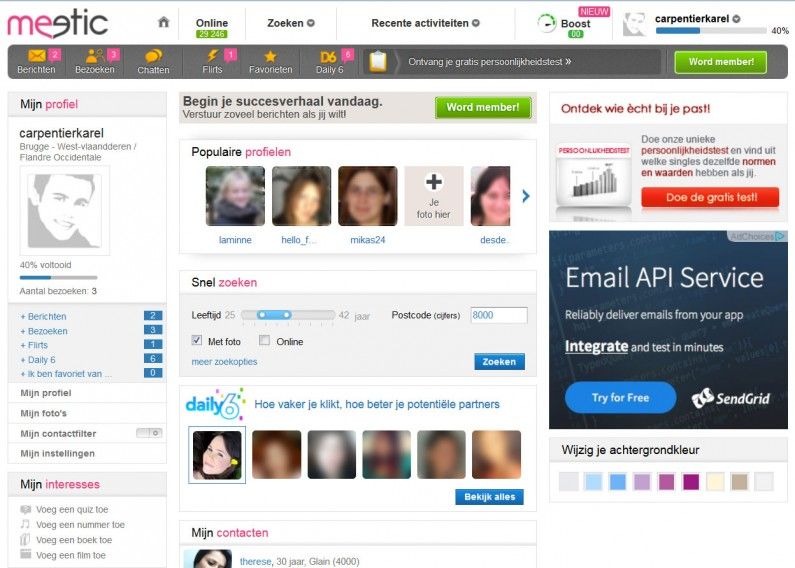 meetic-dashboard